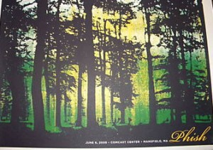 Official Great Woods Poster