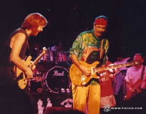 Trey and Carlos - August '92 (phish.com)