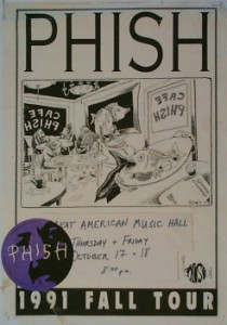 Fall Tour 1991 Poster