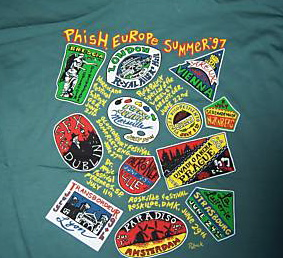 Europe '97 Summer Tour T-Shirt