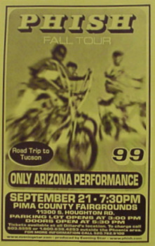 Pima Co. Fairgrounds '99 Poster